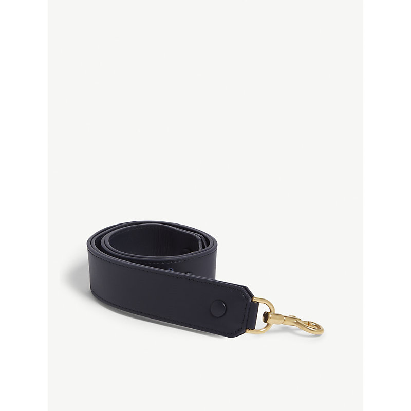 ANYA HINDMARCH HAPPY LEATHER BAG STRAP