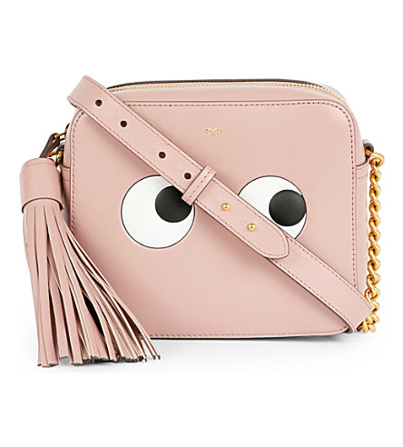 ANYA HINDMARCH Leather eyes design cross-body bag (Rose