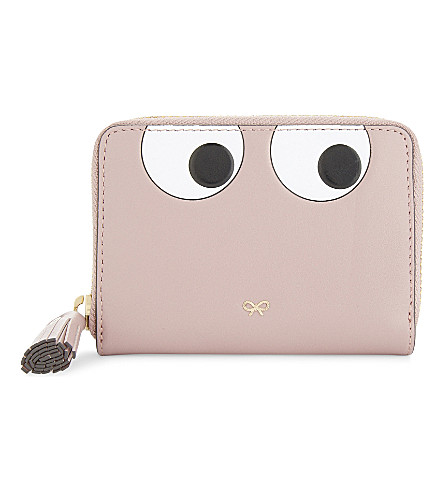 ANYA HINDMARCH Cartoon leather purse (Rose