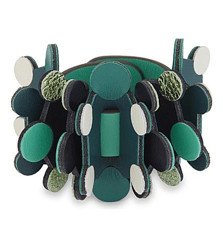 ANYA HINDMARCH Build-A-Bag Circulus Ruff bag accessory (Arsenic