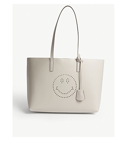 ANYA HINDMARCH Ebury leather tote (Steam