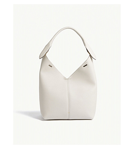 ANYA HINDMARCH Build-a-Bag leather hobo (Steam+shearling