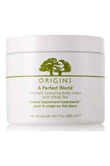 ORIGINS A Perfect World™ Hydrating Body cream