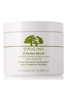 ORIGINS A Perfect World™ Hydrating Body cream