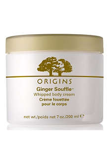 ORIGINS Ginger Soufflé™ whipped body cream 200ml