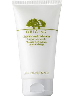 ORIGINS Checks and Balances™ frothy face wash 150ml