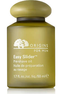 ORIGINS Easy Slider™ Pre–Shave Oil