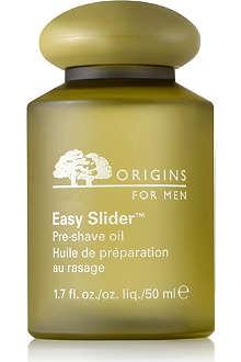 ORIGINS Easy Slider™ Pre–Shave Oil
