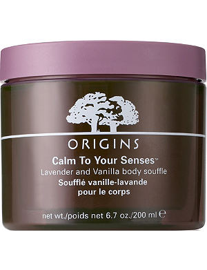 ORIGINS Calm to your Senses™ Lavender and Vanilla Body Soufflé 200ml
