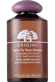 ORIGINS Calm to your Senses™ Lavender & Vanilla Oil for Bath & Body