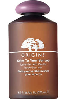 ORIGINS Calm to you Senses™ Lavender & Vanilla Body Cleanser 200ml