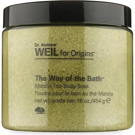 ORIGINS The Way of the Bath™ Matcha Tea Body Soak 454g