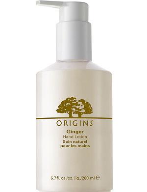 ORIGINS Ginger Hand Lotion 200ml
