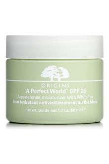 ORIGINS A Perfect World™ SPF 25 Age–Defense Moisturiser with White Tea