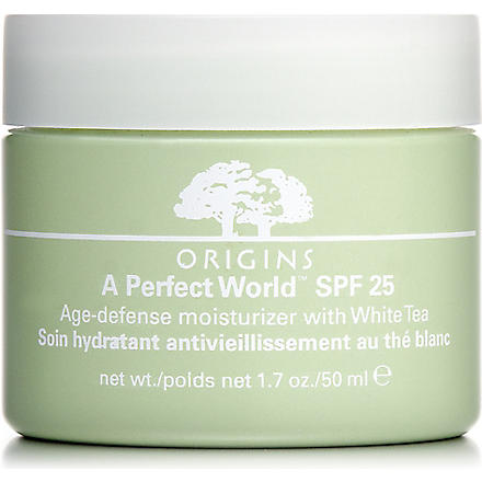 ORIGINS A Perfect World™ SPF 25 Age–Defense Moisturiser with White Tea
