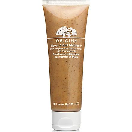 ORIGINS Never a Dull Moment® Skin Brightening Face Polisher 125ml