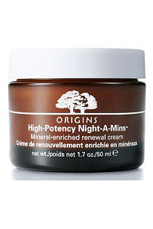 ORIGINS High Potency Night–A–Mins™ mineral–enriched renewal cream