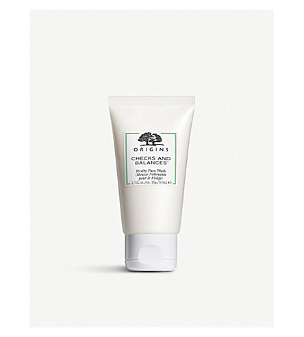 ORIGINS Checks and Balances™ frothy face wash 50ml