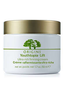 ORIGINS Youthtopia™ ultra–rich firming face cream 50ml