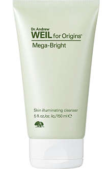 ORIGINS Mega-Bright skin illuminating cleanser 150ml