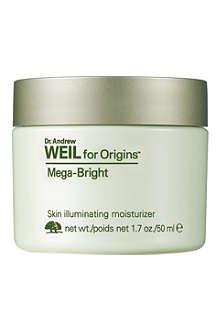 ORIGINS Mega-Bright skin illuminating moisturiser 50ml