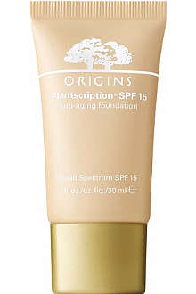ORIGINS Plantscription™ SPF 15 anti-ageing foundation