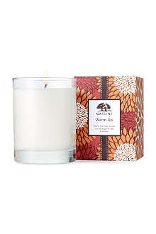 ORIGINS Warm up candle