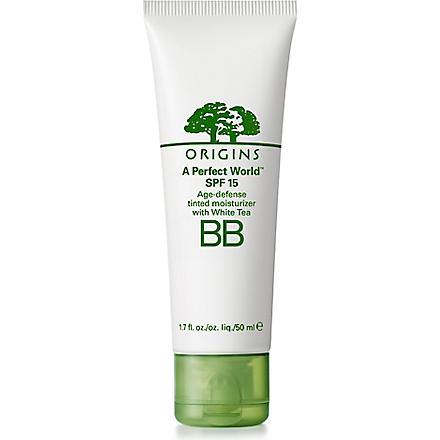 ORIGINS A Perfect World™ BB tinted moisturiser (Deep