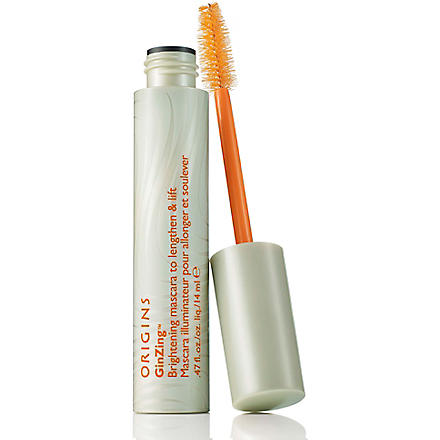 ORIGINS GinZing™ brightening mascara (Black