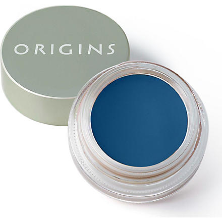 ORIGINS GinZing™ Brightening cream eye shadow (Blue-tiful burst