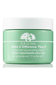 ORIGINS Make a Difference™ + Ultra Rich Cream