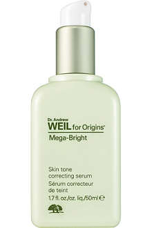 ORIGINS Mega–Bright skintone correcting serum 50ml