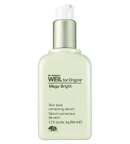 ORIGINS Mega–Bright skintone correcting serum 50ml