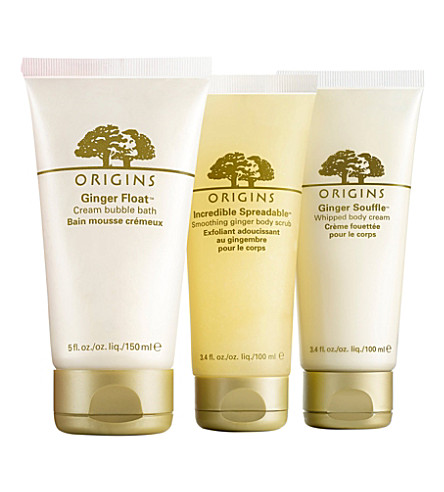 ORIGINS Love Me Ginger gift set