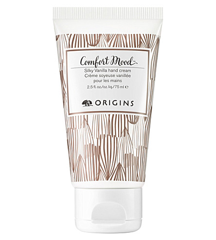 ORIGINS Comfort mood silky vanilla hand cream 75ml