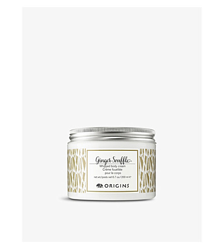 ORIGINS Ginger Soufflé Whipped body cream 200ml
