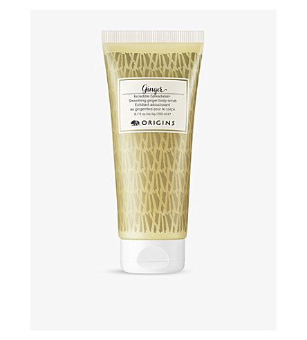 ORIGINS Incredible spreadable ginger body scrub 200ml