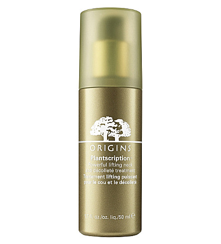 ORIGINS Plantscription Powerful lifting neck & décolleté treatment 50ml