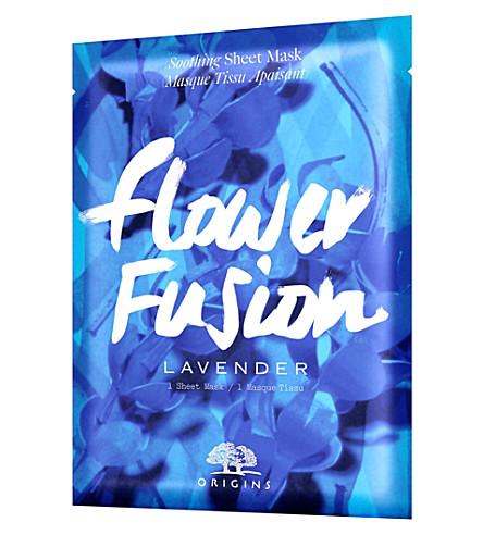 ORIGINS Flower Fusion sheet mask