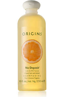 ORIGINS No Deposit® shampoo 250ml