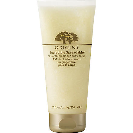 ORIGINS Incredible Spreadable® Smoothing Ginger body scrub 200ml