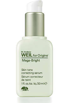ORIGINS Mega–Bright Skintone correcting serum 30ml
