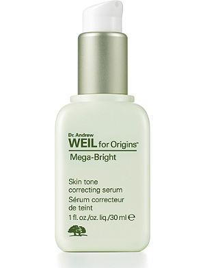 ORIGINS Mega–Bright Skintone correcting serum 30ml