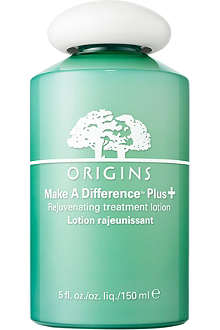 ORIGINS Make A Difference Plus+ Rejuvenating treatment lotion 150ml