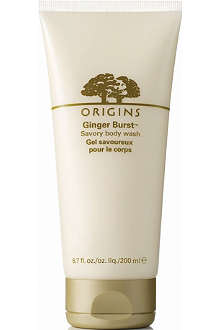 ORIGINS Ginger burst body wash 200ml
