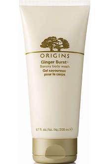 ORIGINS Ginger burst body wash 200ml