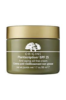 ORIGINS Plantscription™ anti-ageing oil-free cream SPF 25