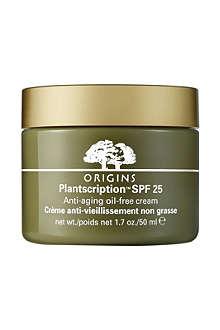 ORIGINS Plantscription™ anti-ageing oil-free cream SPF 25