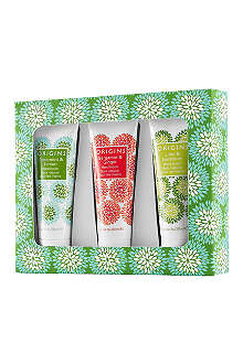 ORIGINS Hand lotion trio