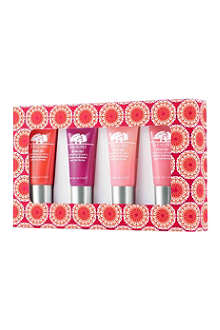ORIGINS Drink Up hydrating lip balm set